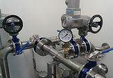 Technol. vystrojení dmychárny ČOV