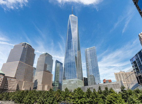 Time-lapse of the construction of the One World Trade Center
