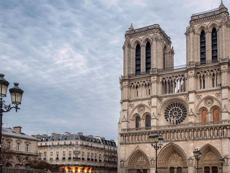 Huge Fire on Notre Dame Cathedral