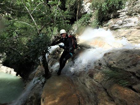 Grimpe et canyon we 13/14 juin
