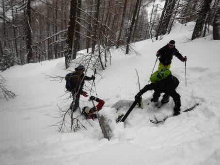 WE escalade et ski rando - Club USPEG montagne Marseille