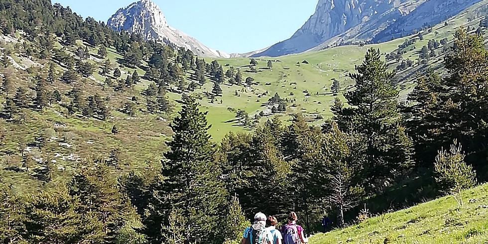 WE rando d'automne en UBAYE - Tour du Chapeau de Gendarme 2685m