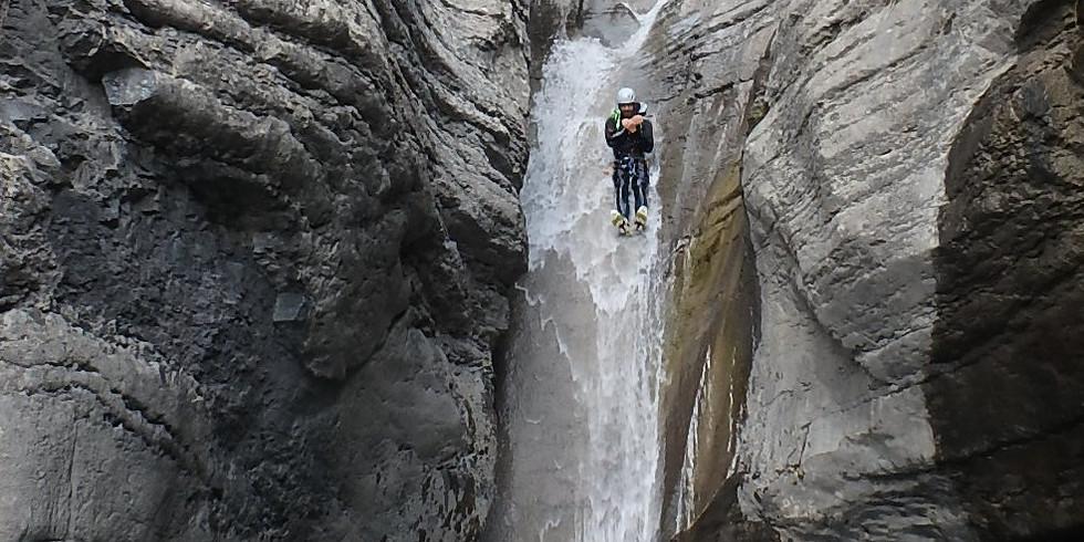 WE Canyonisme dans les Alpes du sud