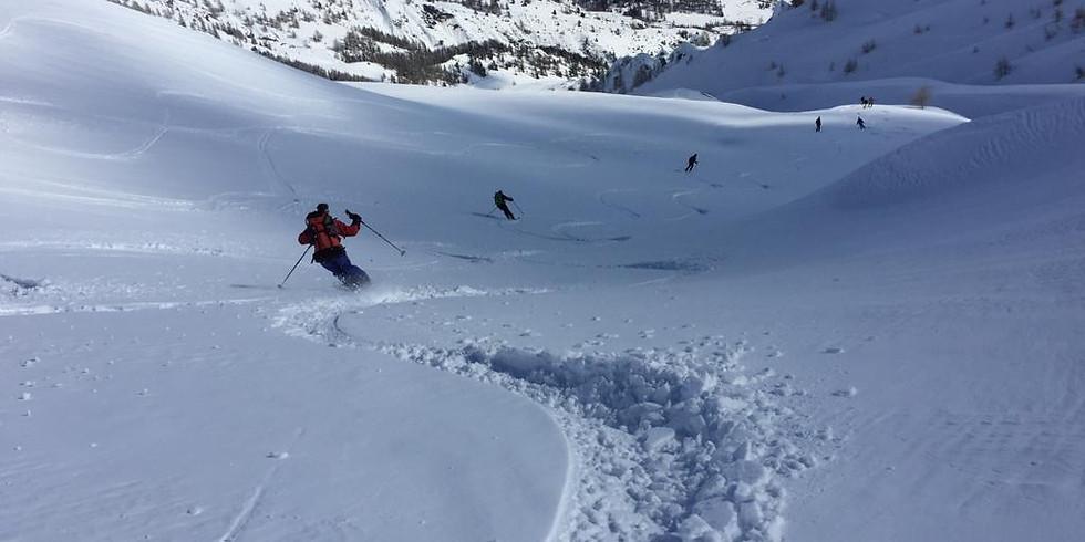 Ski de randonnée à la journée