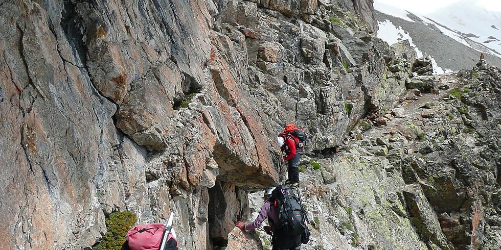 Trek de 4 jours en Valais Suisse, tour des Dents du Midi, col à 2500m (Annulé)