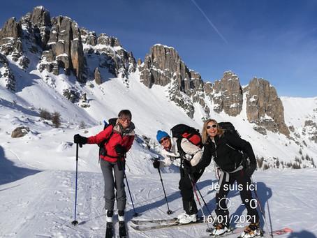 CR activités USPEG Montagne semaine S2 janvier