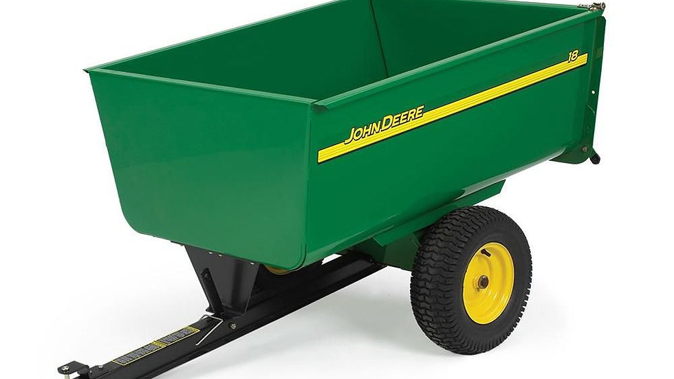 JOHN DEERE 13 STEEL TRAILER