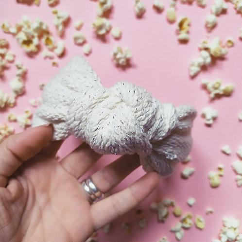 Diadema Tweed Blanca