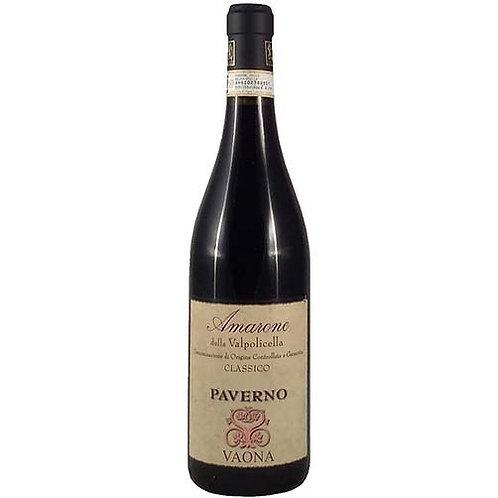 """Paverno """"Vaona"""" Amarone della Valpolicella, Italy"""