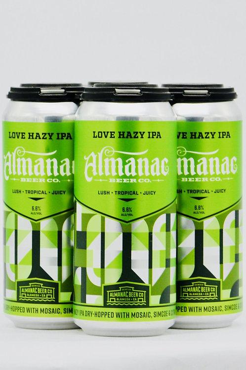 "Almanac Brewery ""Love Hazy"" IPA, Alameda CA"