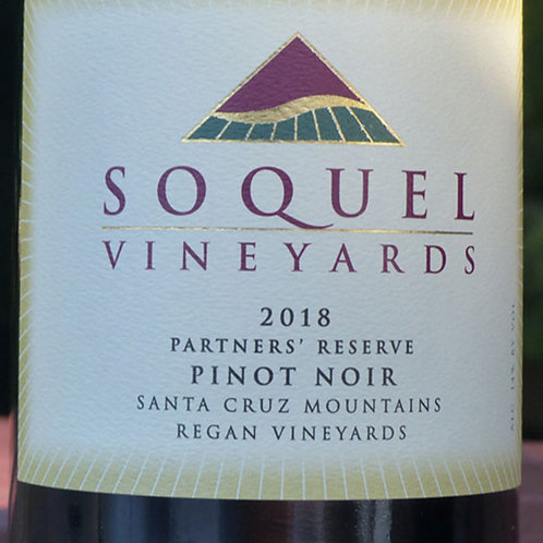 Soquel Vineyards Pinot Noir, Santa Cruz Mountains