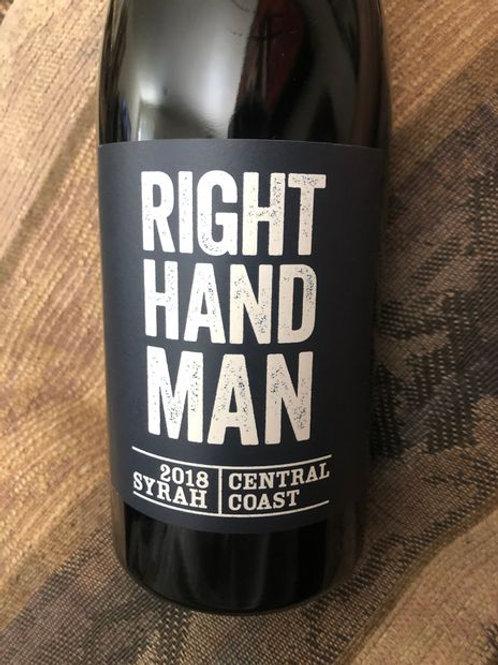 Right Hand Man Syrah, Central Coast CA