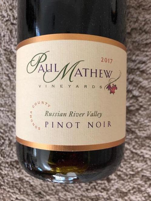 Paul Mathew Pinot Noir, Russian River Valley