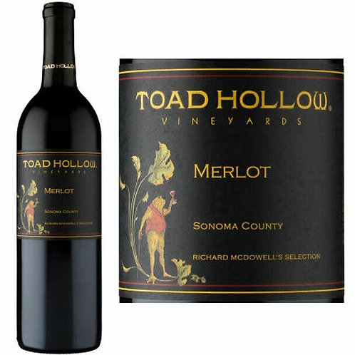 Toad Hollow Vineyards Sonoma Merlot