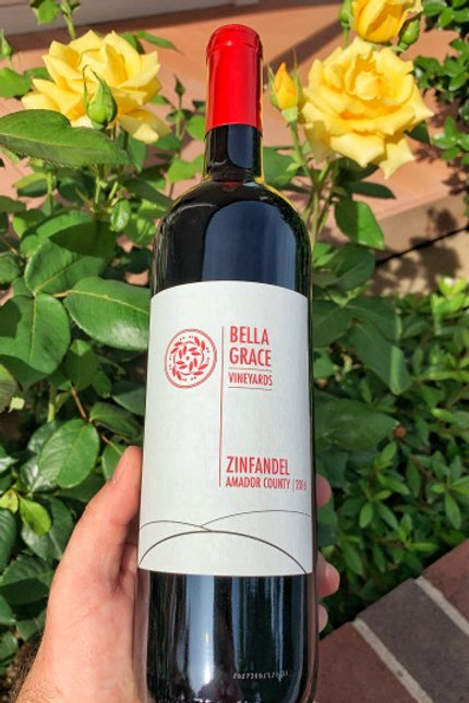 Bella Grace Vineyards Zinfandel, Amador County