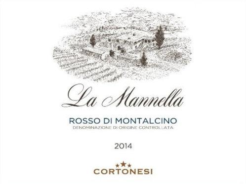 La Mannella Rosso di Montalcino, Italy