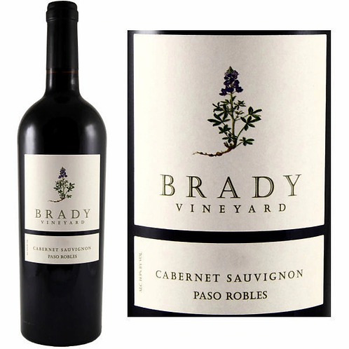 Brady Cabernet Sauvignon, Paso Robles