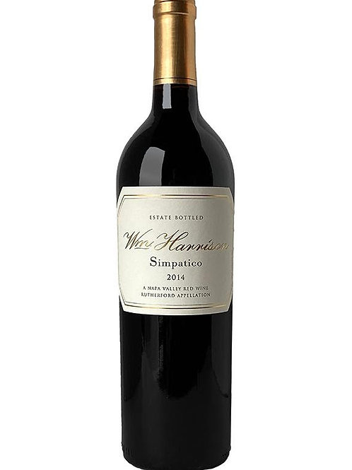 Wm. Harrison Simpatico Red Wine, Napa Valley CA