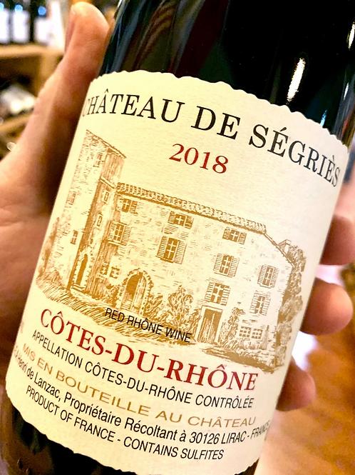 Chateau de Segries Cotes-Du-Rhone