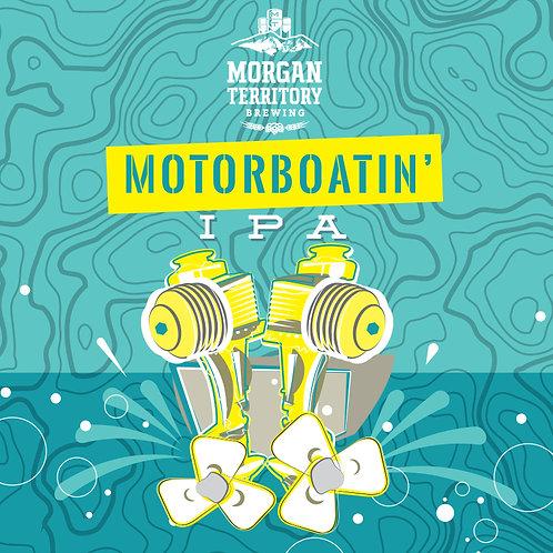 Morgan Territory Brewing Motorboatin IPA