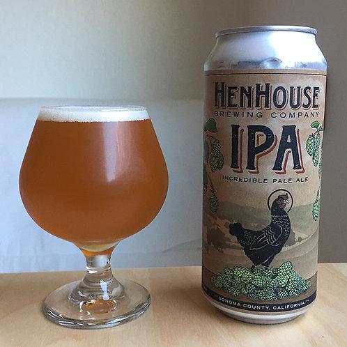 Henhouse Brewing Co. IPA, Petaluma CA