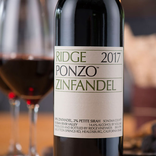 "Ridge ""Ponzo"" Zinfandel, Russian River Valley"