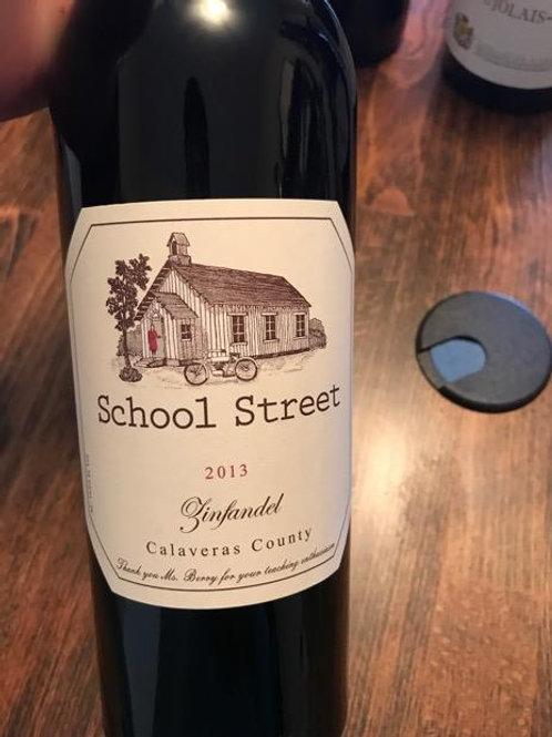 School Street Zinfandel, Calaveras County