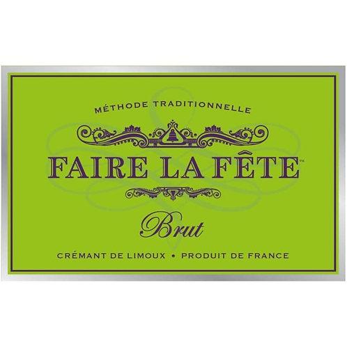 Faire la Fete Cremant de Limoux Brut 375ml, France