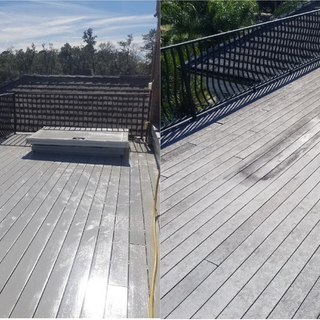 Skydeck Before and After