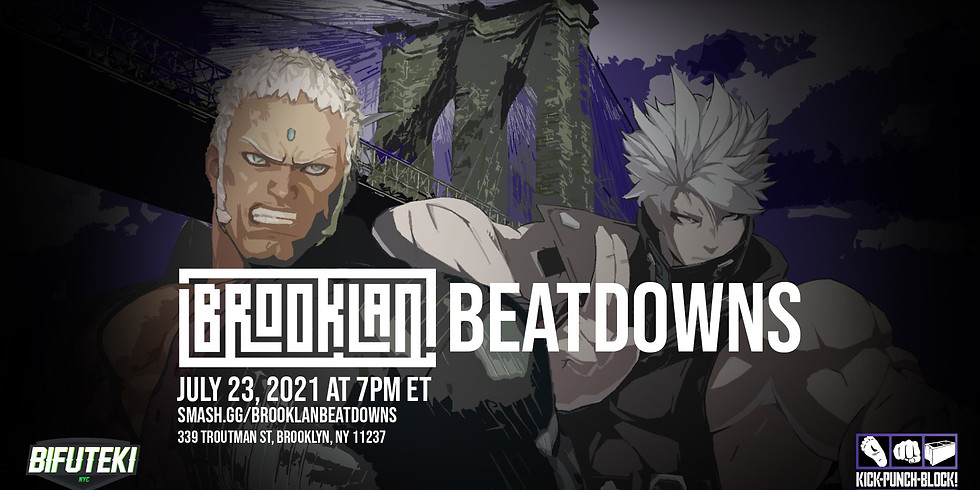 BrookLAN Beatdown Series - SFV x Guilty Gear Strive