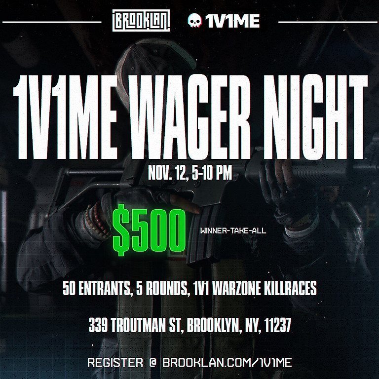 Warzone Wager Night, Presented by 1v1Me