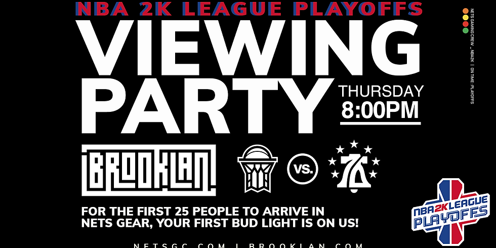NBA 2K League Viewing Party: NetsGC vs. 76ers GC