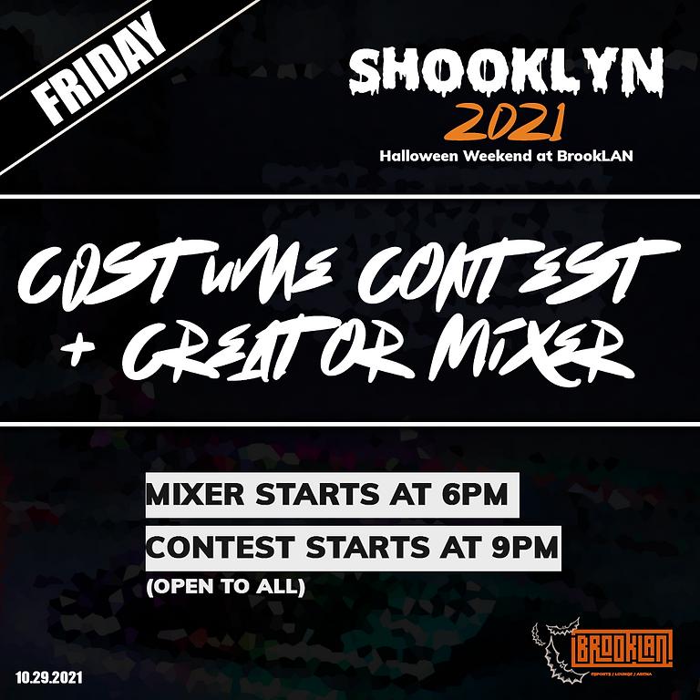 Halloween Creator Mixer + Costume Contest