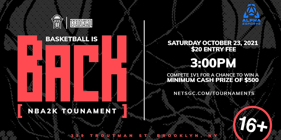 NBA 2K22 Tournament - BrookLAN x NetsGC