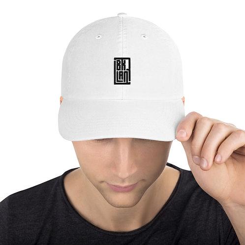 BrookLAN Dad Hat (White)