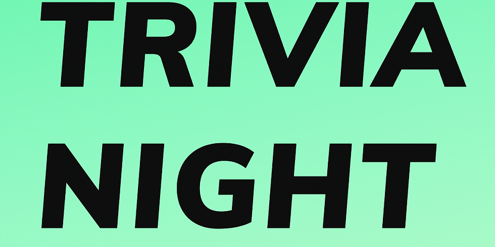Tuesday Night Trivia w/ Gabe Olivero