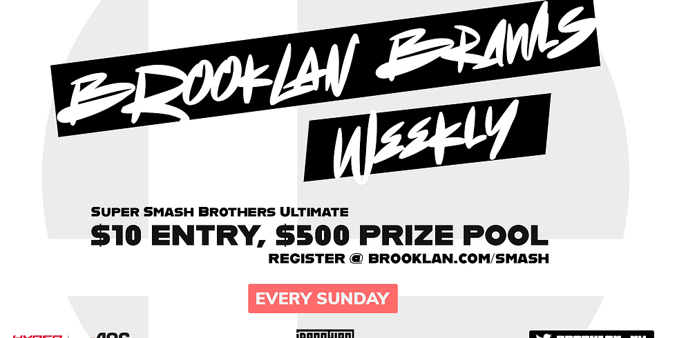 BrookLAN Brawls: SSBU Weekly #6 Presented by HyperX & AOC Gaming