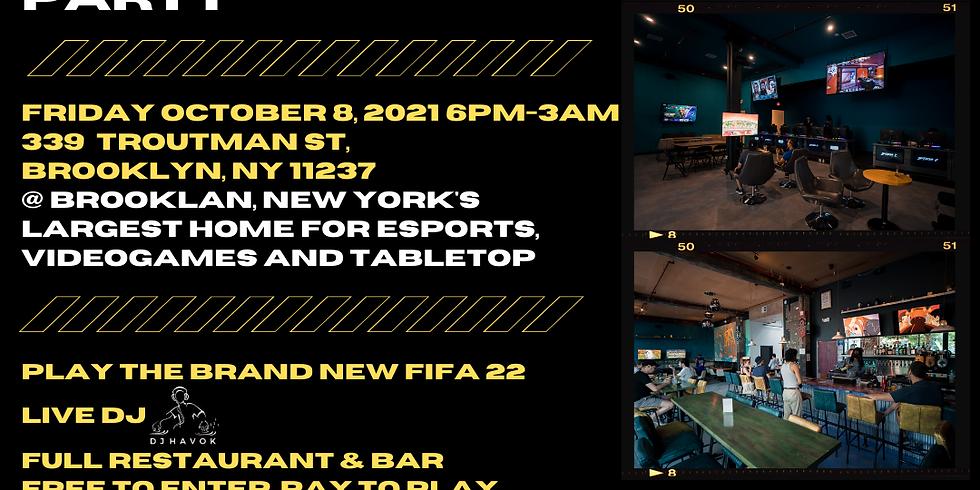 FIFA 2022 Launch Party w/ Wavy Footy