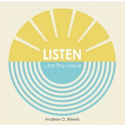 LISTEN for Thy Voice - CD