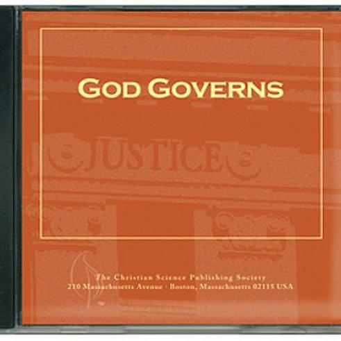 God Governs - CD