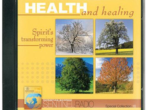 Health and Healing: Spirit's Transforming Power - CD