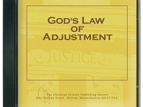 God's Law of Adjustment - CD