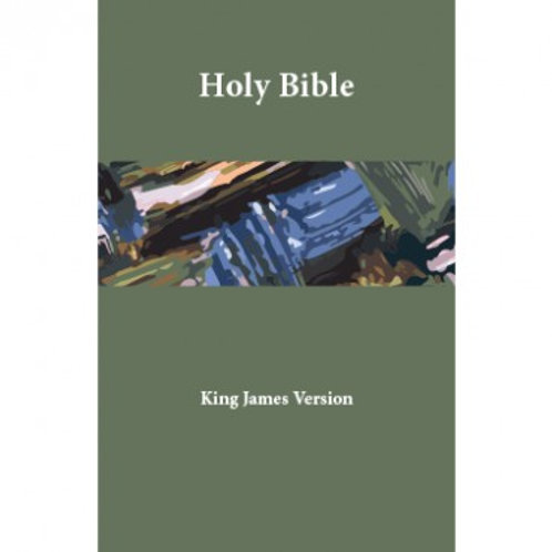 Holy Bible KJV - Indexed, Midsize Sterling Edition