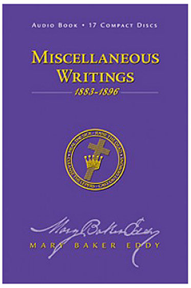 Miscellaneous Writings - CD 1883-1896