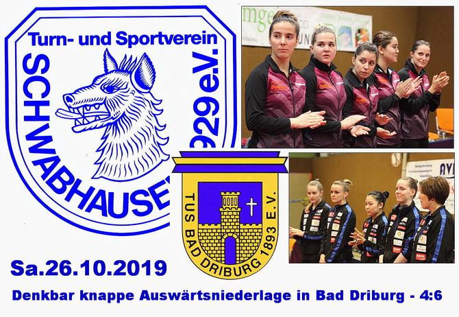 DIE ERSTEN PUNKTE: Damen holen die ersten Punkte in der Tischtennis-Bundesliga!