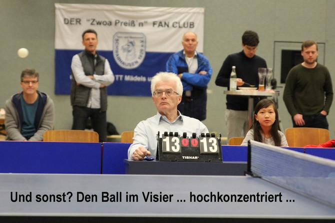Tischtennis: Bayerische Meisterschaften der Senioren
