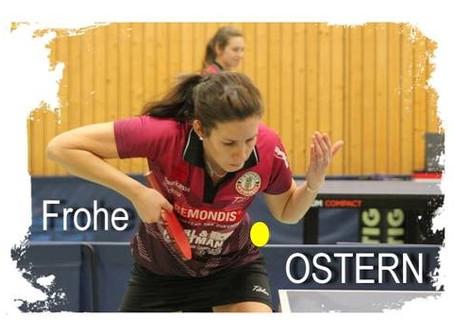 Die Tischtennis-Abteilung wünscht FROHE OSTERN