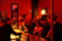 Die Bar beim Weihnachtskonzert