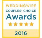 VBC named to top 5% of wedding venues!