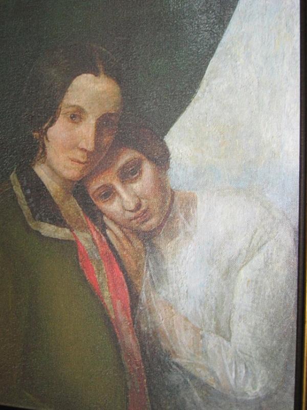 Елена с матерью Еленой Ган